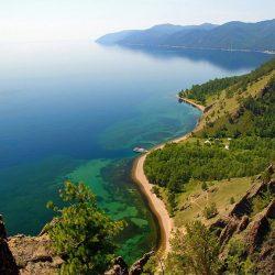 Байкал: подробная карта побережья