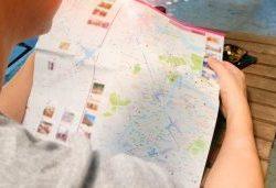 Подробная бесплатная карта Абрау-Дюрсо онлайн