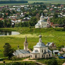 Суздаль: город Золотого кольца России