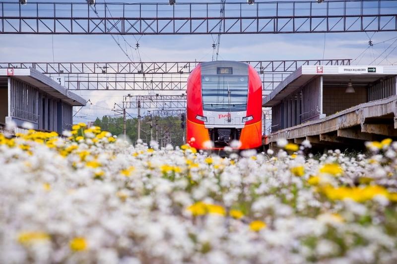 У РЖД акция «На майские лучше поездом!»
