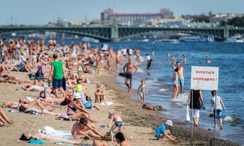 Где нельзя купаться в Санкт-Петербурге этим летом