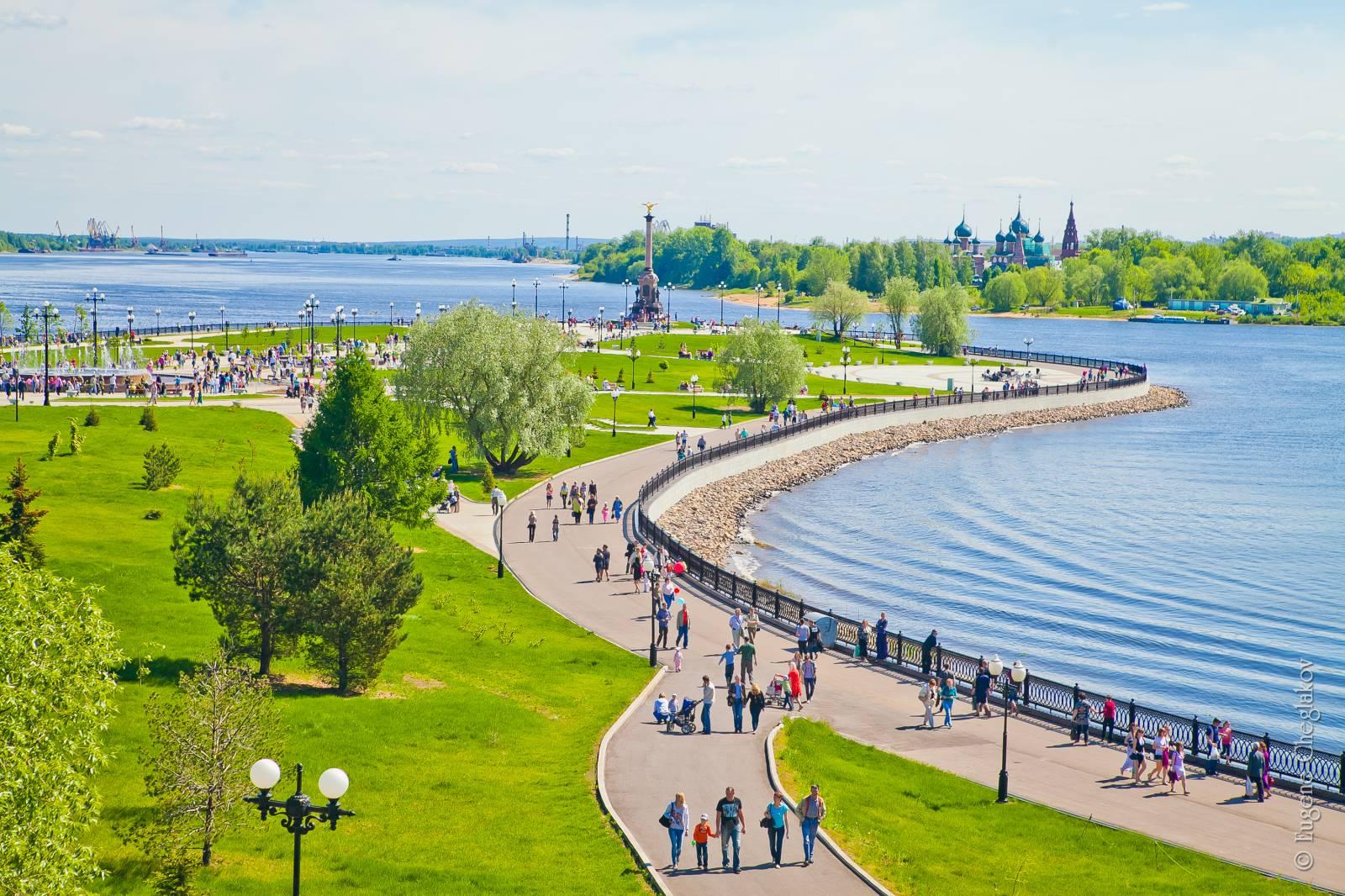 Какие российские города идеальны для отдыха в июне