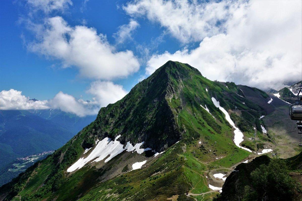 Новый маршрут к вершине Черная пирамида на Красной Поляне