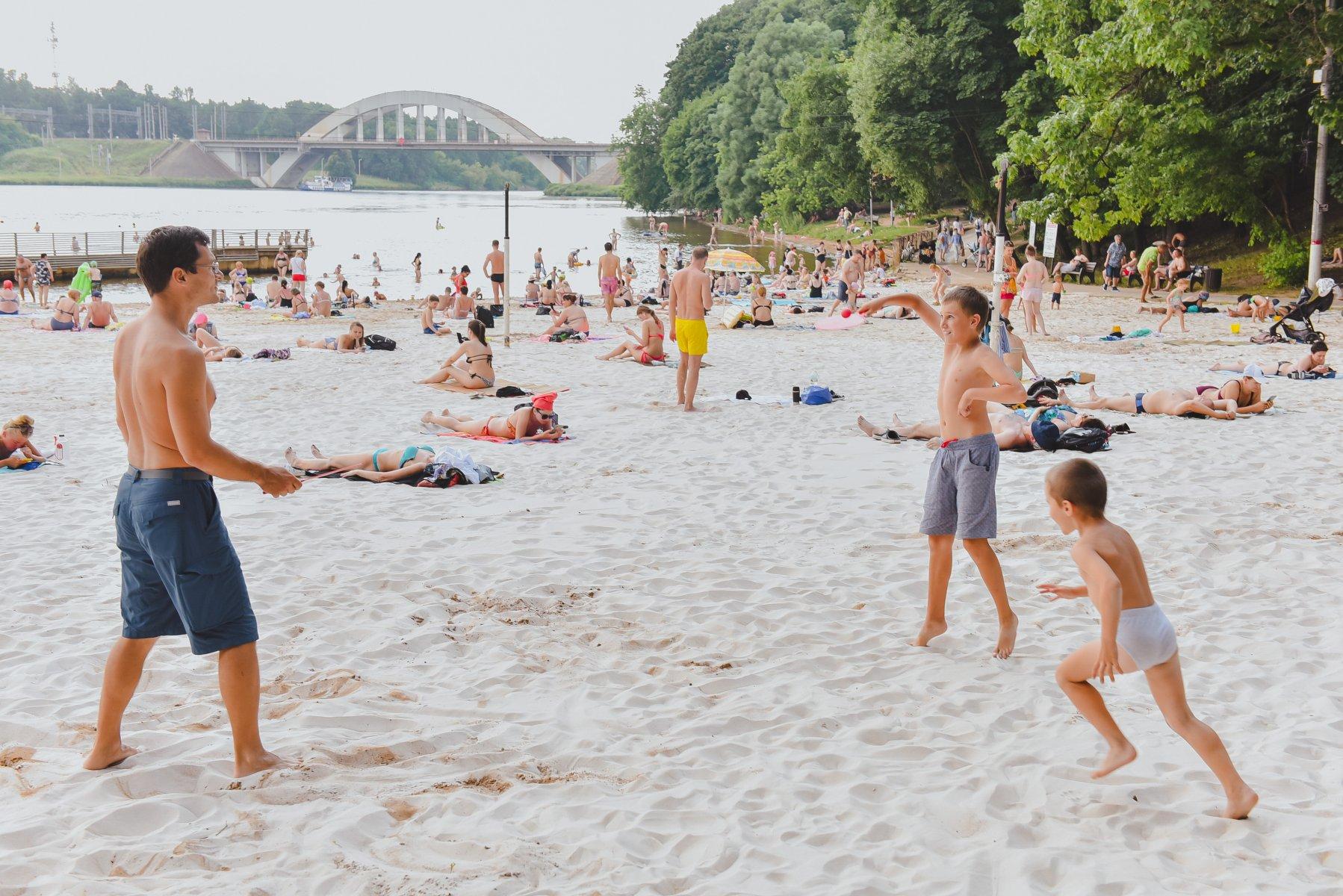 Где отдохнуть на пляжах Подмосковья