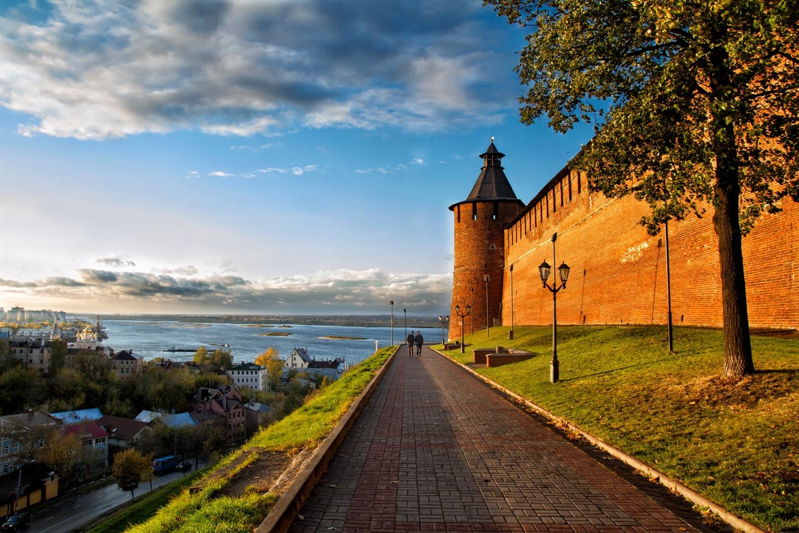 Нижегородский кремль открыли для посещения после реставрации