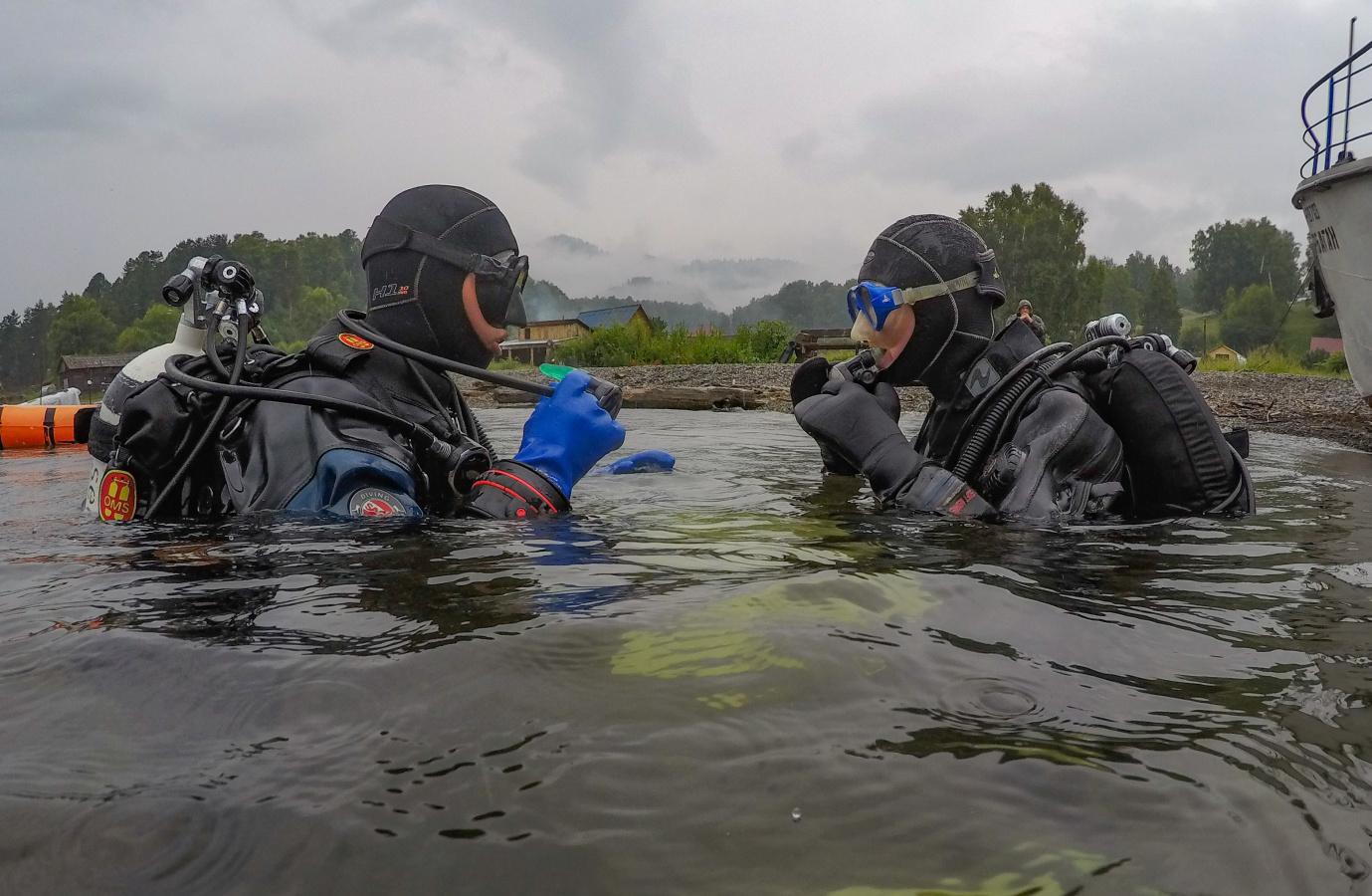 Первая подводная экотропа на Алтае