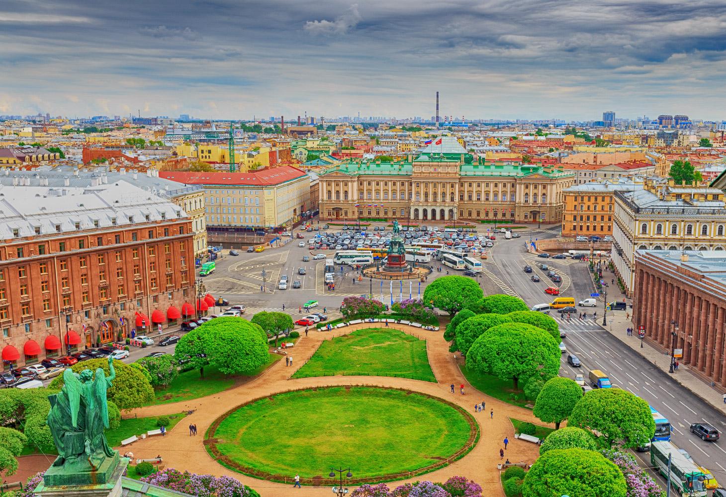 Лучшие города России для отдыха в выходные